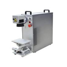 30/20W Portable Fiber Laser Marking Machine 20W Mini fiber laser marker Small 10Watt optics fiber laser marking unit