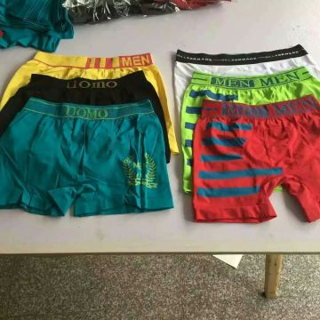 Men Boxier Underwear Stock for Wholesale
