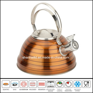 Full Color Painted Whistle Kettle Cookware