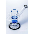 Honeycomb to Tornado Perc Sidecar Glass Smoking Water Pipe (ES-GB-567)