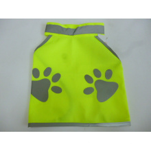 100% Polyester Knitting Fabric Safety Vest for Pet