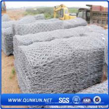 Malha de arame hexagonal de alta qualidade galvanizada antes
