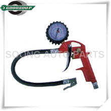 3 in 1 Dial Air inflator, Tire inflator, Tire inflate Gauge, Tire inflate Gun with flexible hose