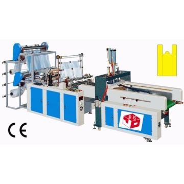Computer Full Automatic T-Shirt Bag Sealing and Cutting Machine