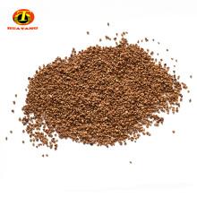Filtro de medios de cáscara de nuez de 1-2 mm para la protección del medio ambiente