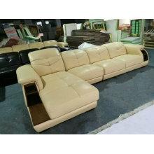 Новые прибытия, Ciff гостиная мебель, современный кожаный диван (A64 #)