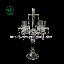 Glass Candle Holders for Party Decoration with Five Posts (10*23*39.5)