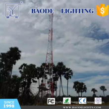Mástil de antena FDD-Lte y torre de comunicación para China Telecom