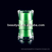 20ml 50ml de lujo de la cintura redonda acrílico cosméticos jarra