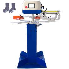Anti slip socks silicone ink screen printing machine