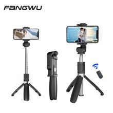 Selfie Stick Tripod With BT Wireless Remote Plastic Alloy Self Stick Phone Smartphone Selfie-stick