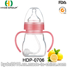 2016 Eco-Friendly Various Size Plastic Baby Feeding Bottle (HDP-0706)