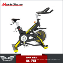 Equipo de alta calidad Gym Upright Cycle Spinning Bike