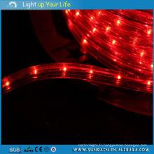 Lumière de corde de haute qualité 2 fils