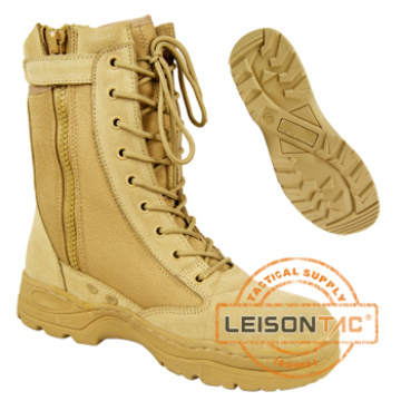 Tactical Boots of Cowhide Full Grain Leather/ Anti-Slip and Anti-Abrasion