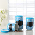 ceramic canisters wholesale with silicone lid
