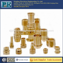 professional OEM cnc machining parts brass lamp