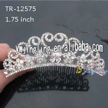Venta al por mayor Rhinestone Princess Tiara