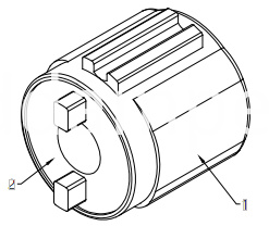 Barrel Damper For Small Flip Plate