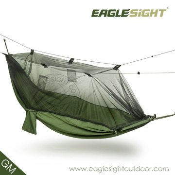 Nuevo Diseño OEM Mosquito Net Parachute Hamaca