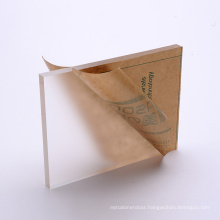 Wholesale customized 2mm 3mm 6mm more matte frosted acrylic sheet