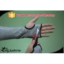 SRSAFETY 13G black nylon and HPPE sleeve, anti-cut sleeve