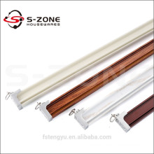 hot sale stainless steel bathroom curtain rail curving for export