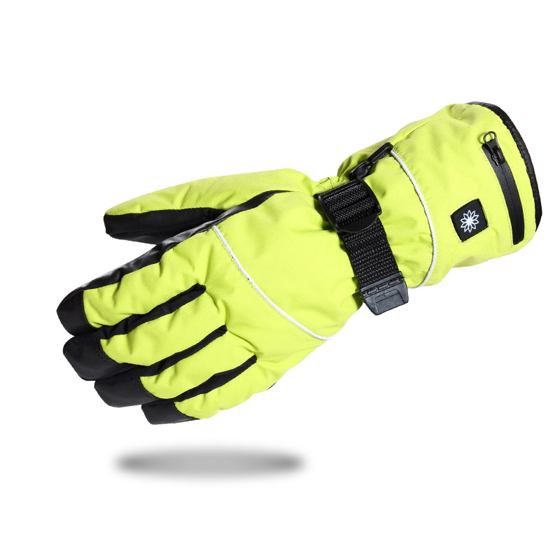 yellow Hot gloves