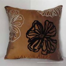 Cojín de seda impreso para la decoración del sofá