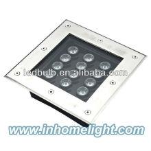 Lâmpadas de LED subterrâneas de alta potência de 12W