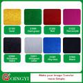 Folhas de vinil de transferência de calor multi-coloridas QingYi