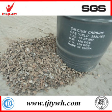 Planta china del carburo de calcio para el tamaño 15-25m m