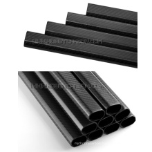 3K Full Carbon Fiber Tubes for UAV drone, Twill Matte Carbon Fiber Booms for Done Arms