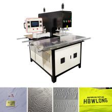 brand logo auto heat pressing machine for fabric