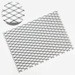 1 mm Galvanized Diamond Hole Metal Mesh