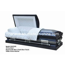 Style américain 18 Ga acier cercueil (18H 3501)