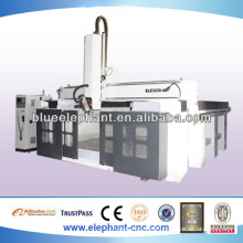 Excellent quality 4 axis cnc machine with HSD spindle