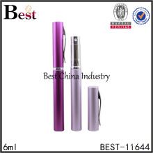 Shanghai Meilleur 6 ml cosmétique parfum vaporisateur rouge couleur stylo parfum vaporisateur de poche taille parfum vaporisateur