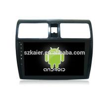 Quad core! Android 6.0 voiture dvd pour SWIFT 2013-2016 avec écran capacitif de 10,1 pouces / GPS / lien miroir / DVR / TPMS / OBD2 / WIFI / 4G