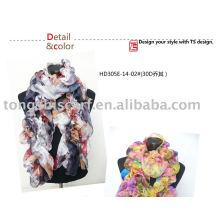 crinkle Шифоновое шарф