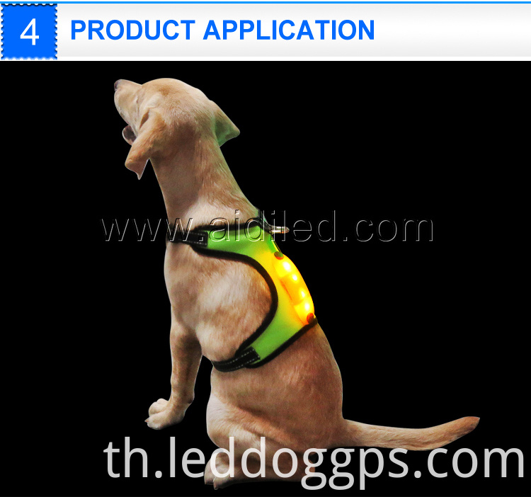 Usb Recharge Dog Harness