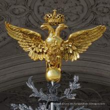 Heißer Verkauf Metall Adler Wand Skulptur mit CE-Zertifikat