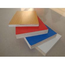 Papel de melamina enfrentado plywood1220 * 2440 * 18mm