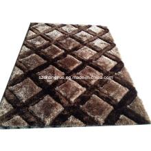 Polyester Moderne Shaggy Teppiche mit 3D Effekt