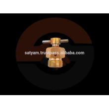 Valve de cuvette d'air en laiton / vanne de vidange en laiton - corps hexagonal