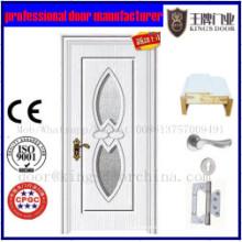 Puertas de madera de PVC con marco