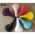 mult color bicycle rivet saddle for fixed gear bike