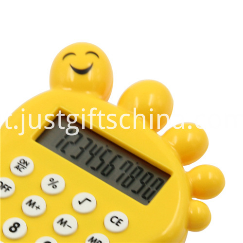Promotional Cartoon Baby Foot Shaped Calculator_2