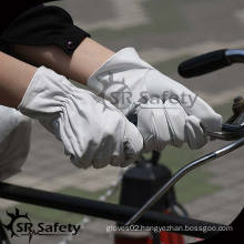 SRSAFETY High quality leather glove drive women