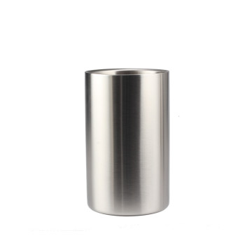 Food Grade StainlessSteel DoubleWall IceBucket Bottle Cooler